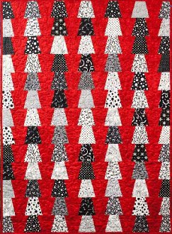 Red Solo Cups Quilt Pattern by Far Flung Quilts
