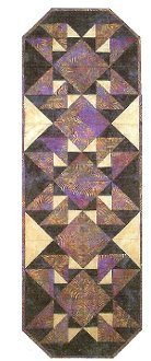 Return to Morocco Table Runner Pattern by Far Flung Quilts