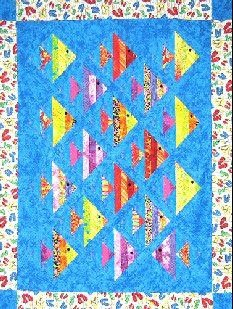Up a Lazy River Quilt Pattern by Far Flung Quilts