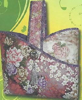 Asian Flair Bag Pattern by Frog Hollow Designs
