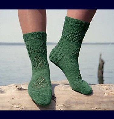 Fidalgo Feet Sock Pattern by Linda Peterson