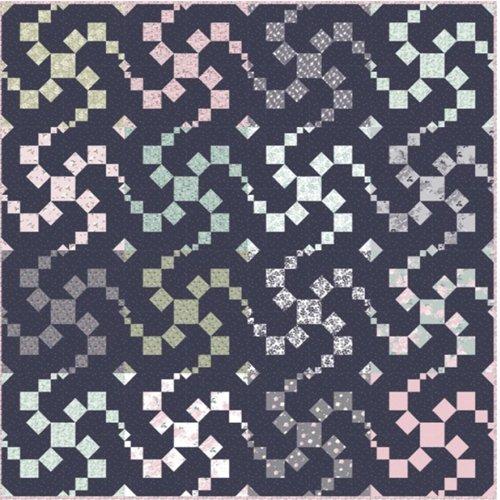 Fidget Spinner Quilt Pattern by Kelli Fannin