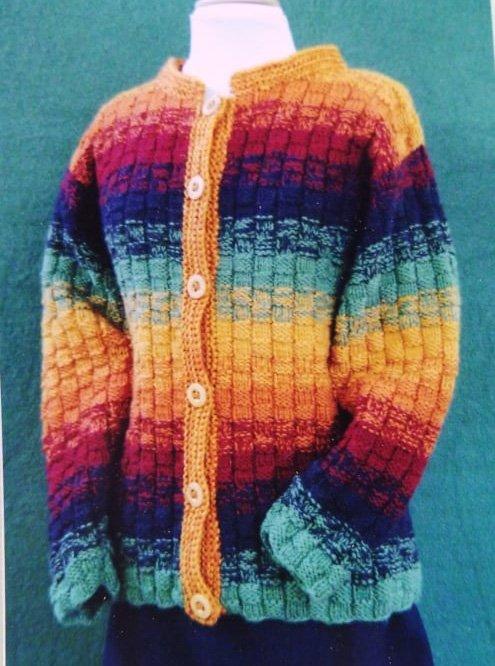 Field Trip Coat Knitted Pattern