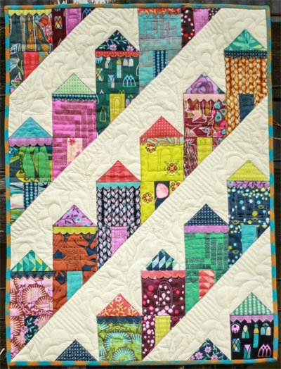 Fierce Ladies Quilt Pattern by Eye Candy Quilts