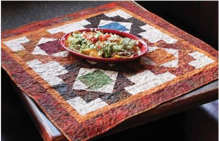 Fiesta Table Mat/Wallhanging Pattern by Cut Loose Press at KayeWood