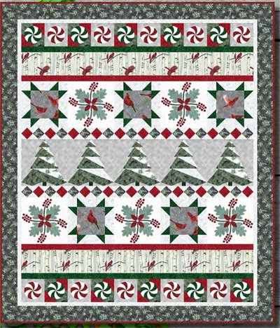 Flights of Whimsy by Pieced Brain Quilt Designs