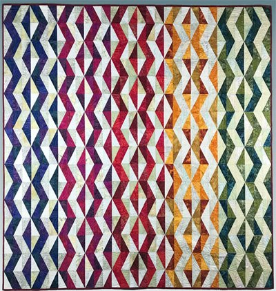 Flint Chips Quilt Pattern by Bear Paw Productions