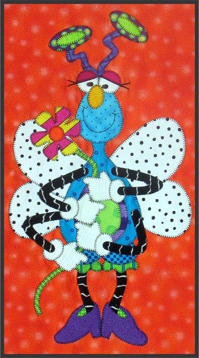 Snugly Bugly Series - Flora Flutter Epattern by Amy Bradley Designs