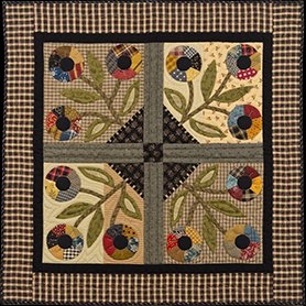 Flowers Outside My Window Quilt Pattern by Timeless Traditions