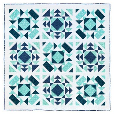 Flurries Quilt Pattern in 4 Sizes by It's Sew Emma