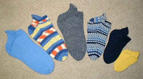 Footies for the Family Sock Knitting Patterh by Lisa Knits