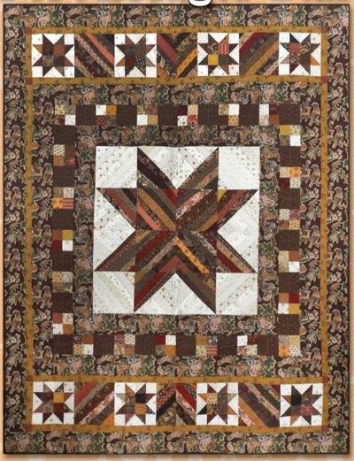 Fort Bridger Star Quilt Pattern by Black Cat Creations
