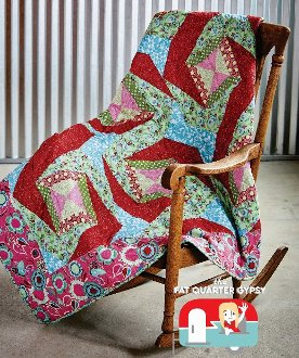 Curlique Quilt Pattern in 4 Sizes by Fat Quarter Gypsy