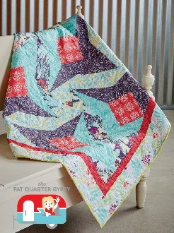Somersault Quilt Pattern in 4 Sizes by Fat Quarter Gypsy