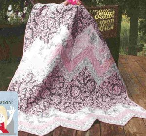 Sweet Ups and Downs Quilt Pattern by Fat Quarter Gypsy