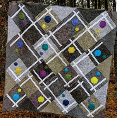 Fractions Quilt Pattern by Swirly Girls