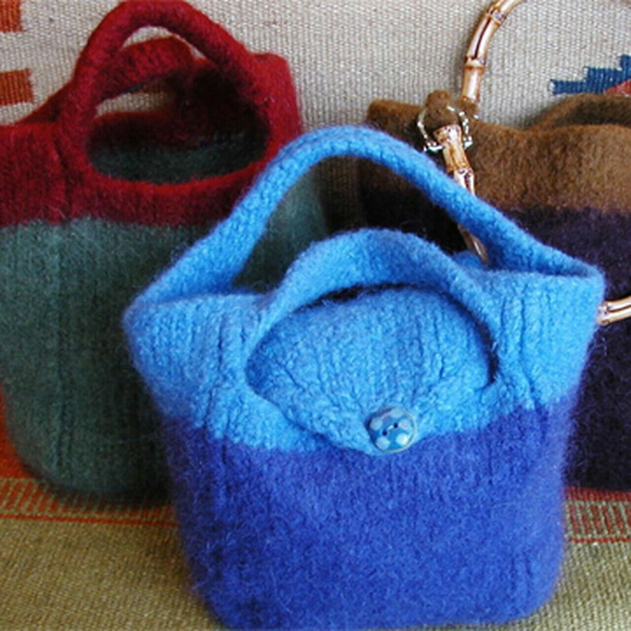 Fran's Felted Purse Pattern by Theresa Gaffey Designs #104