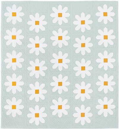 Fresh as a Daisy Quilt Pattern by Pen and Paper Designs