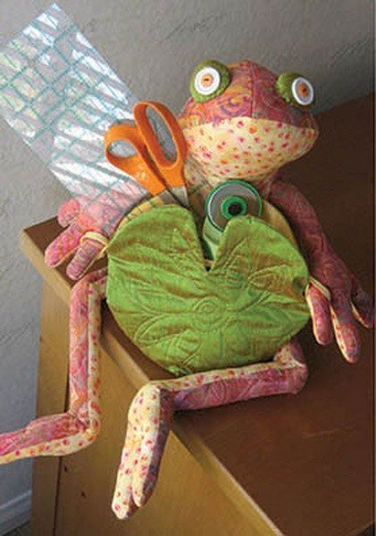 Frogfolio Tabletop Organizer Pattern by Java House Quilts