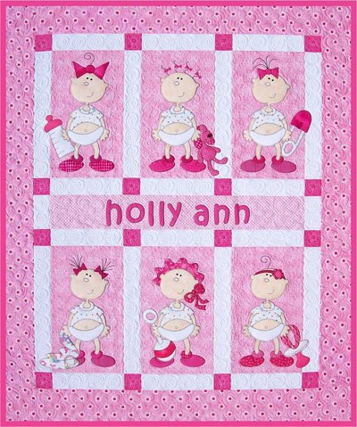 Funny Babies Boy and Girl Version Quilt Epattern by Amy Bradley Designs