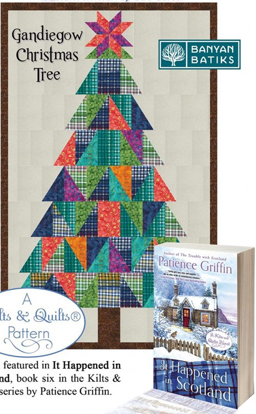 Gandiegow Christmas Tree Pattern by Patience Griffin Quilts