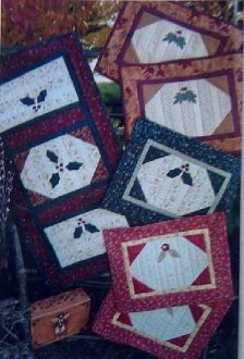 Seasonals Tablerunner and Placemats Pattern by GE Designs