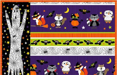 Ghost Placemat Epattern by Castilleja Cotton