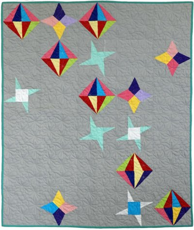 Glitter Sky Quilt Epattern by Charisma Horton