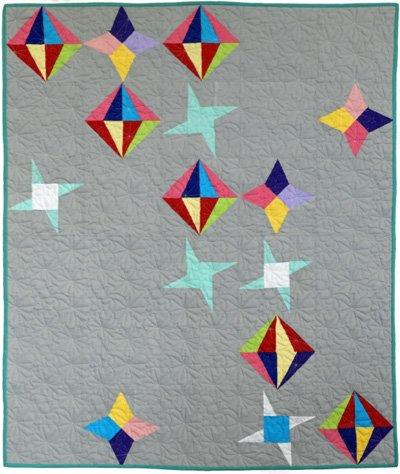 Glitter Sky Quilt Epattern by Charisma Horton