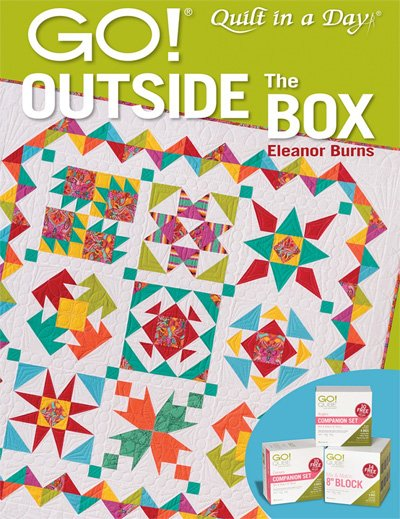 Go! Outside the Box Quilt Book by Eleanor Burns