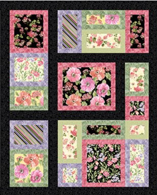 The Great Frameup Quilt Pattern by Grizzly Gulch Gallery