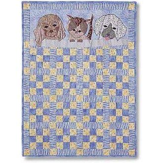 My Furry Friends Kids Quilt Pattern by Garden Trellis Designs