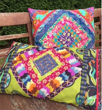 Gypsy Pillows Pillow Pattern by Lynne Wilson Designs