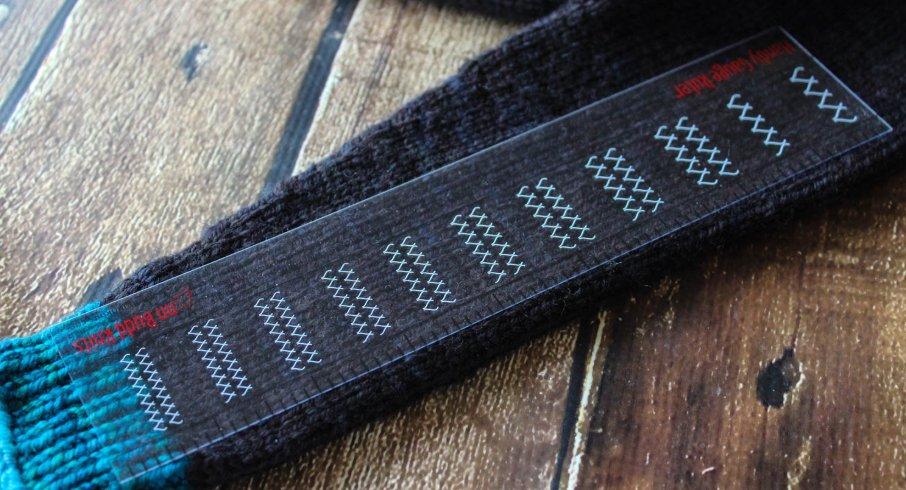 Handy Gauge Ruler Stitch and Row Gauge by Ann Budd