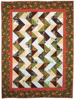 Trail Mix Quilt Pattern in 2 Sizes by Happy Apple Quilts
