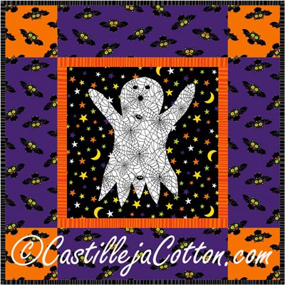 Harvest Ghost Quilt Epattern by Castilleja Cotton
