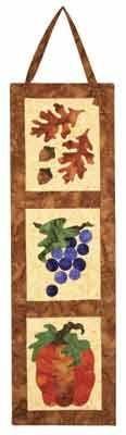Harvest Trio Banner Pattern by Jeri Kelly