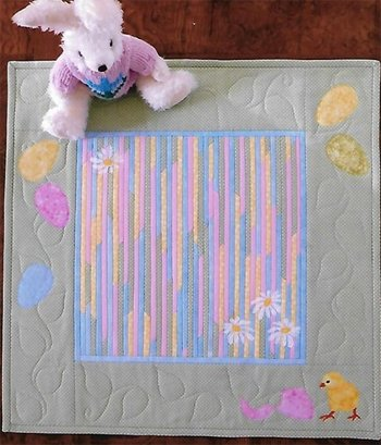 Hatched Tablerunner and Wallhanging Pattern by Trouble & Boo Designs