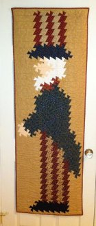 Uncle Sam Twist Wallhanging and Door Hanging Pattern by Handcrafts by Jennifer