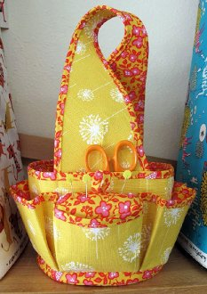 Eva Sewing Basket Pattern by Hemma Designs