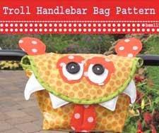 Troll Handlebar Bag/Basket Pattern by Hemma Designs