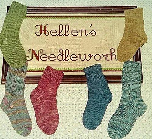 Hellen's Favorite Sock Pattern by Fiber Trends