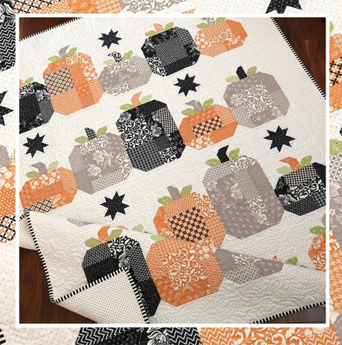 Hocus Pocus Quilt Pattern by The Pattern Basket