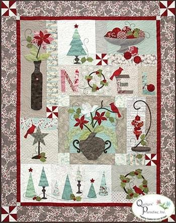 Holiday Chic Quilt Pattern by Quilter's Paradise