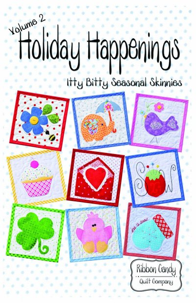 Holiday Happenings Volume 2 by Ribbon Candy Quilt Company