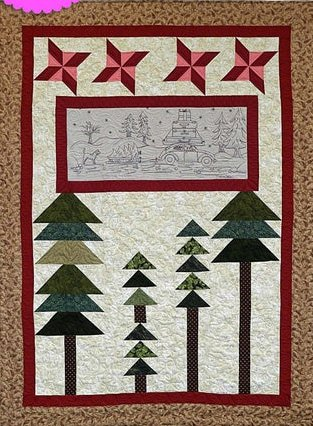 Holiday Homecoming Quilt Epattern by Charisma Horton