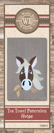 Horse Applique Patternlet by The Wooden Bear