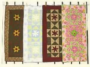 Flower Runners Pattern by Hopscotch Quilt Shop