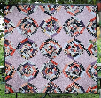 Webbed Quilt Pattern in  5 Sizes by In Color Order