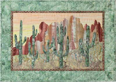 I'll Never Desert You Applique Wallhanging Pattern by McKenna Ryan
